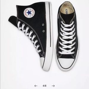 Converse All-Star Chuck Taylor Black Sneaker 6